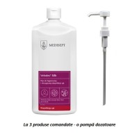 Dezinfectant lichid pentru maini Velodes Silk - 500ml